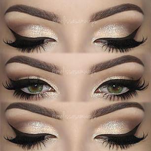black and white eyeshadow tutorial