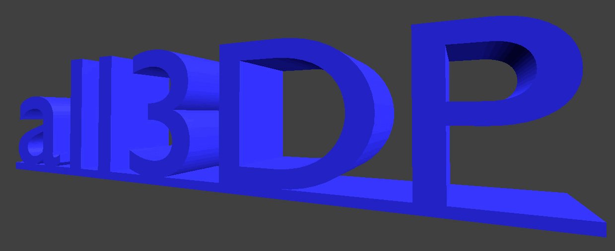 blender 3d text tutorial