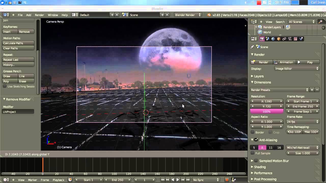 blender camera movement tutorial