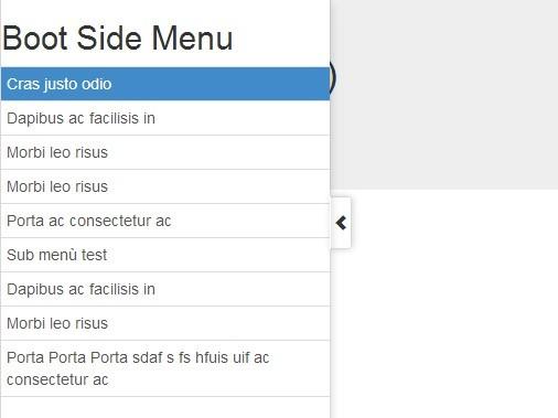 bootstrap responsive menu tutorial