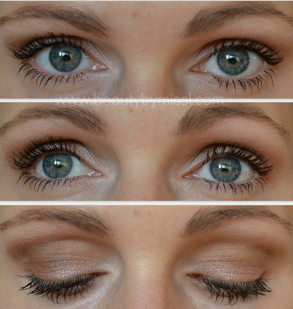 brown and gold eye makeup tutorial