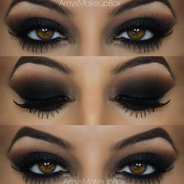 brown eyeshadow tutorial for brown eyes