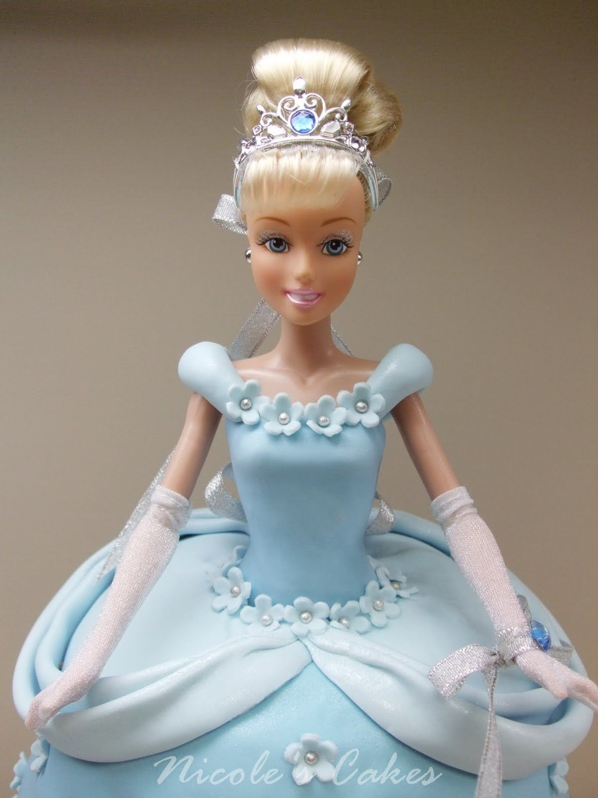 buttercream doll cake tutorial