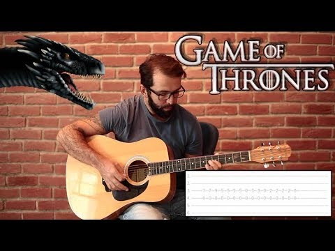game of thrones theme guitar tutorial