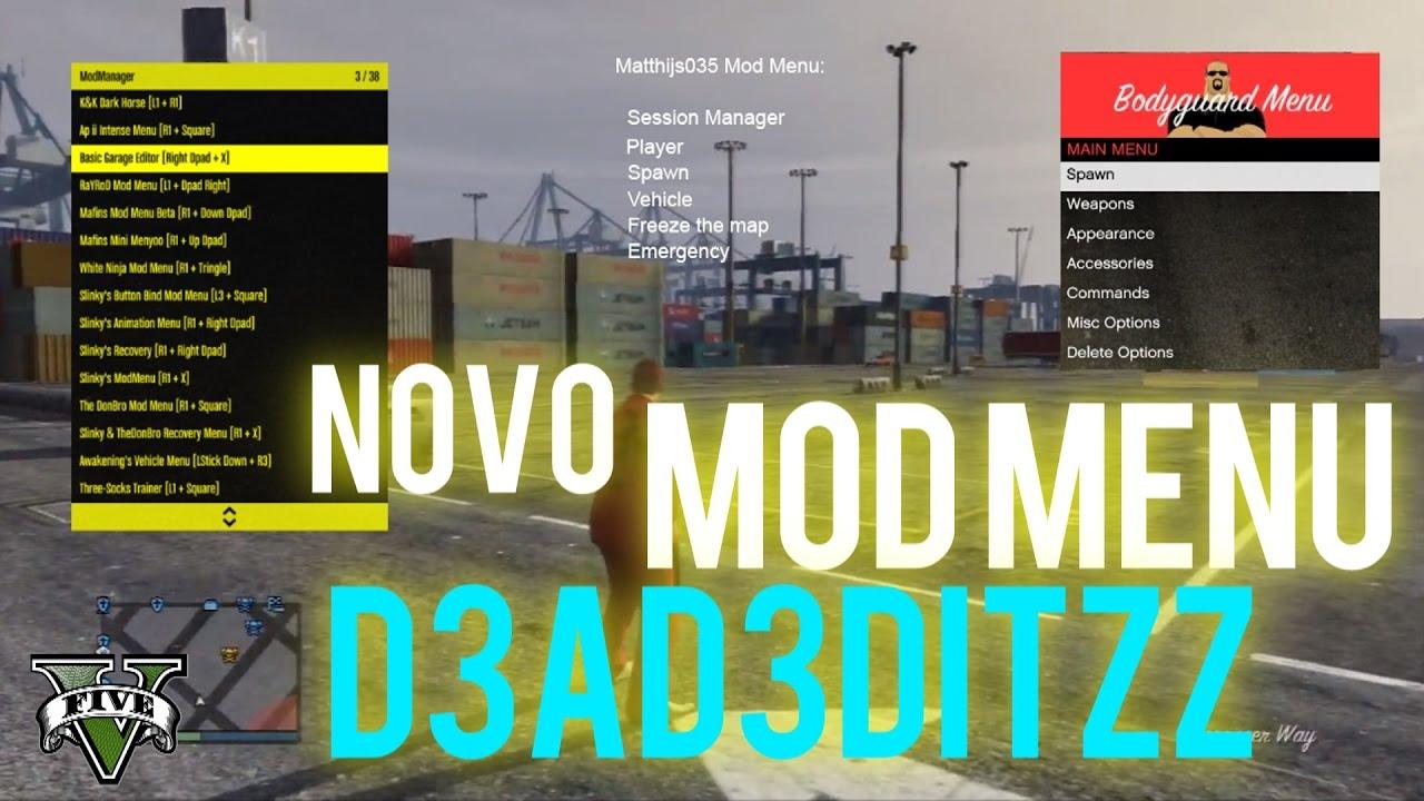 d3ad3ditzz mod menu tutorial