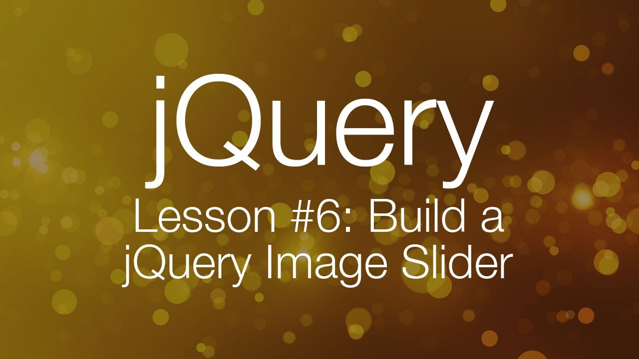 jquery image slider tutorial
