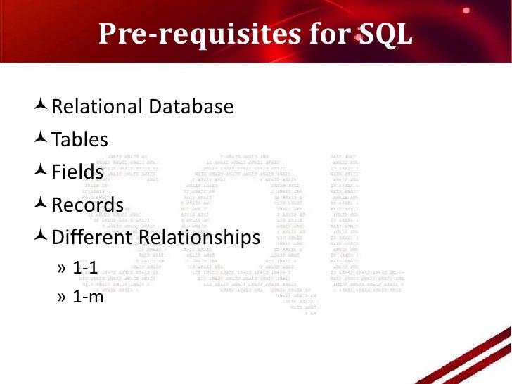 sql query language tutorial