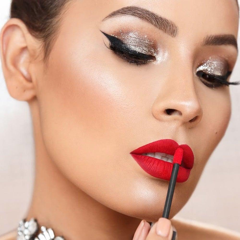 candy cane makeup tutorial