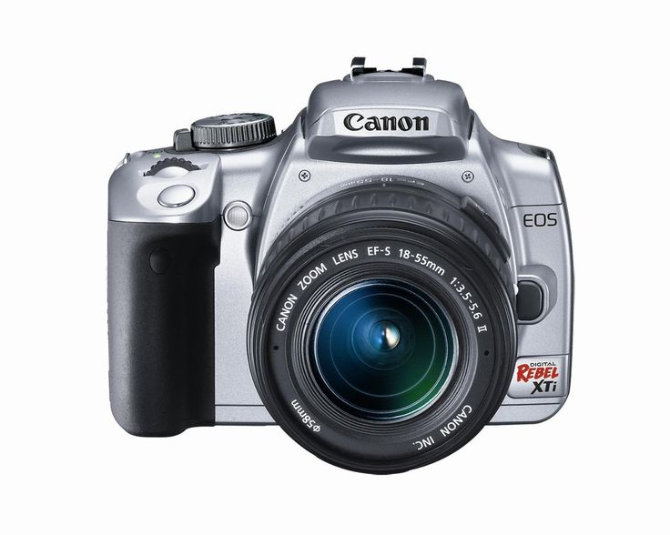 canon rebel xti tutorial