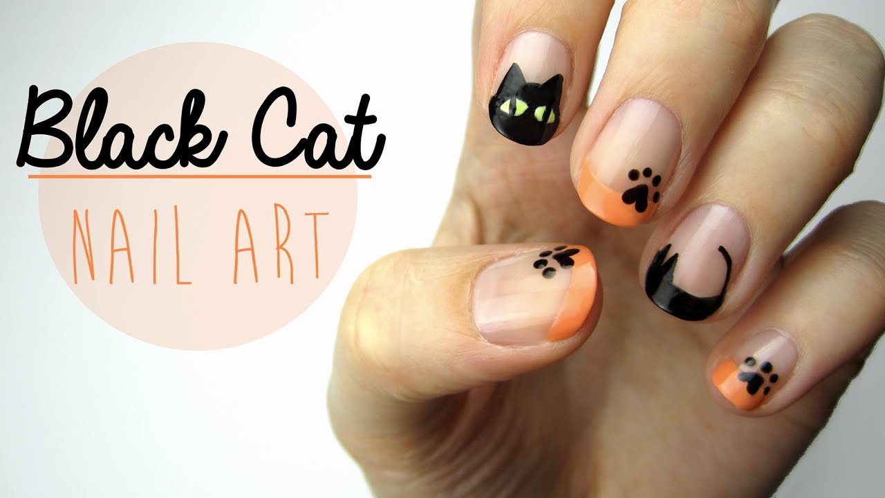 cat eye nails tutorial