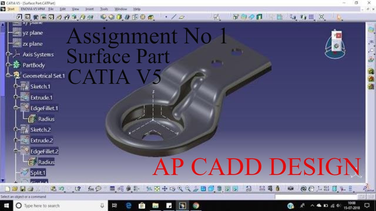 catia v5 part design tutorial pdf