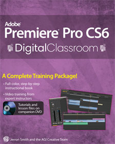 adobe premiere pro cs6 tutorial book