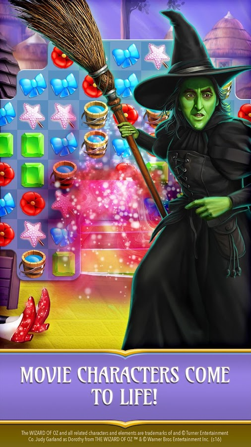 wizard of oz magic match tutorial