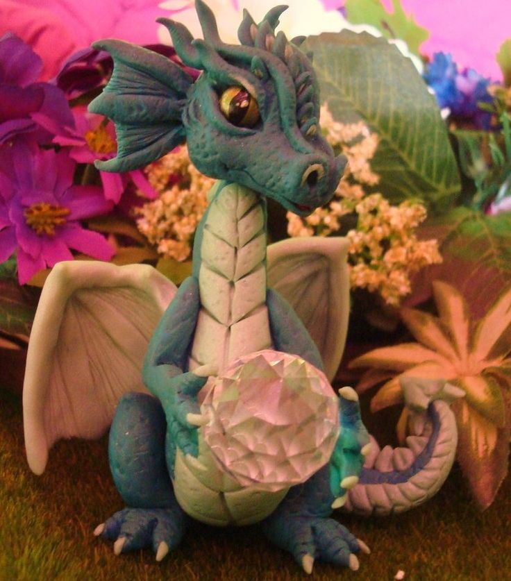 polymer clay baby dragon tutorial