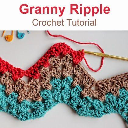 chevron crochet afghan tutorial
