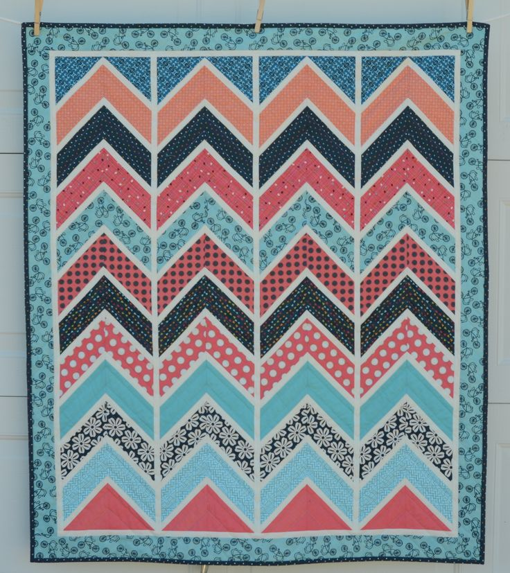 chevron quilt pattern tutorial