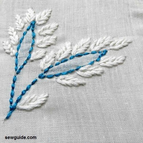chikankari embroidery stitches tutorial