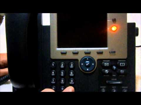 cisco ip phone tutorial