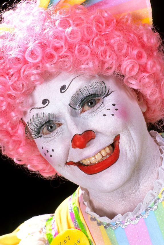 clown face paint tutorial