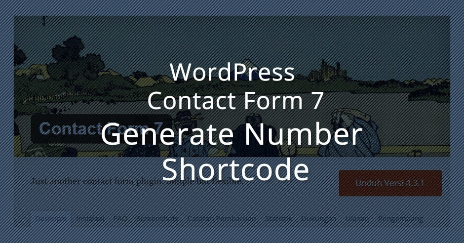 contact form 7 tutorial