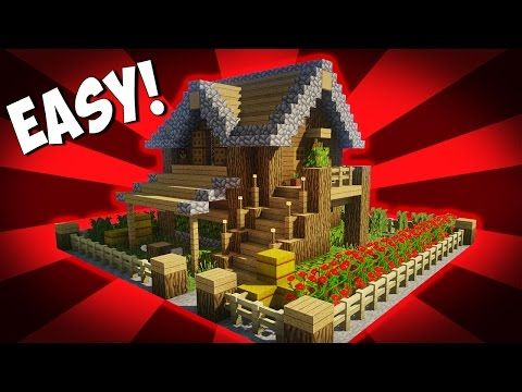 cool minecraft house tutorial