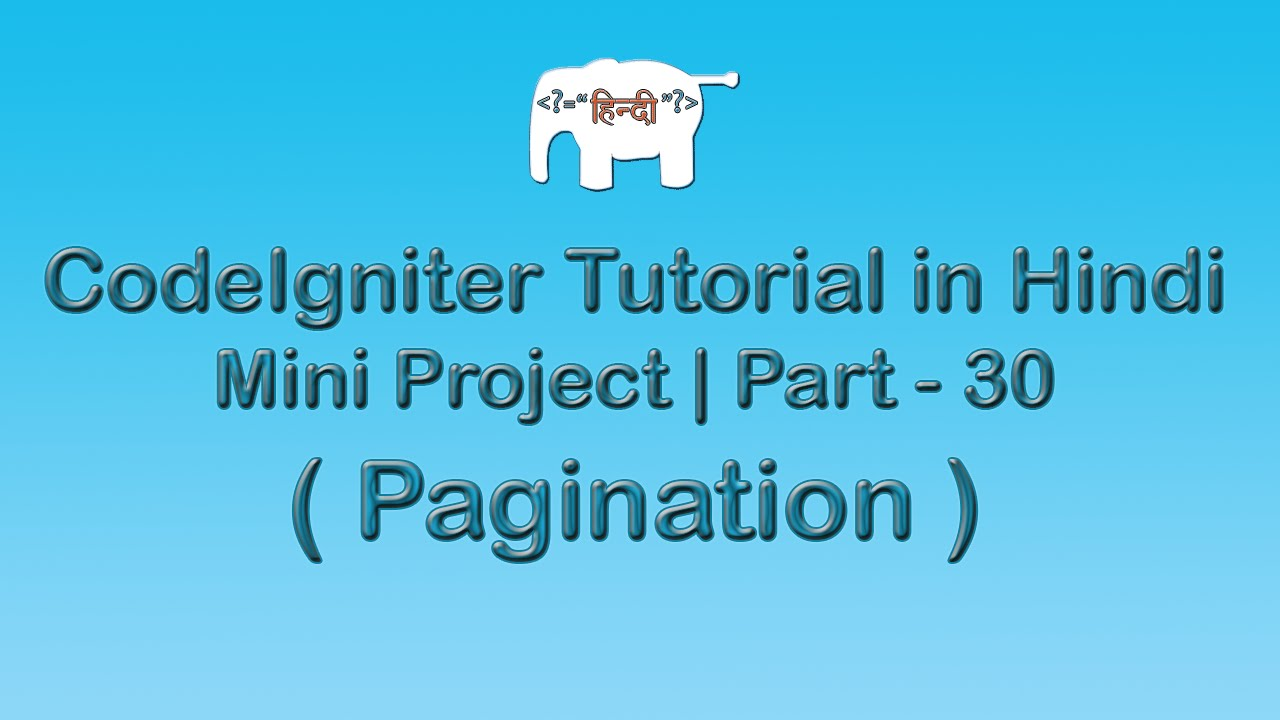 create website with codeigniter tutorial