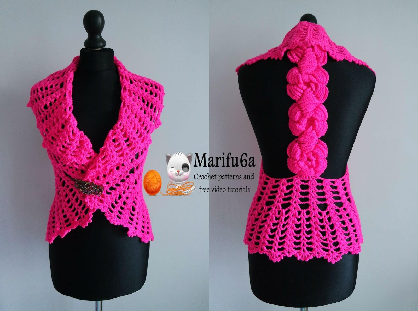 crochet bolero shrug tutorial