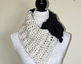 crochet cowl neck scarf tutorial
