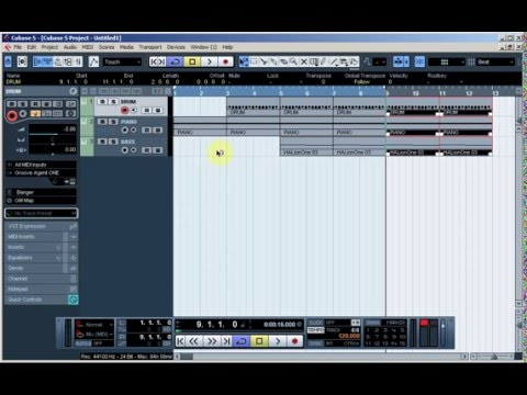 cubase 5 tutorial beginner