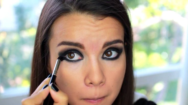 cute panda makeup tutorial