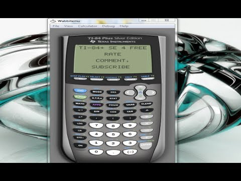 ti 83 calculator tutorial