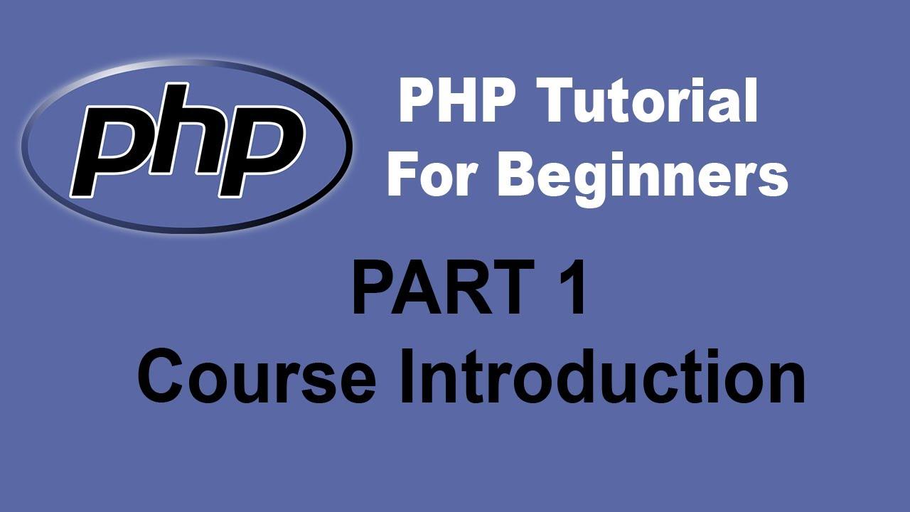 php tutorial for beginners full