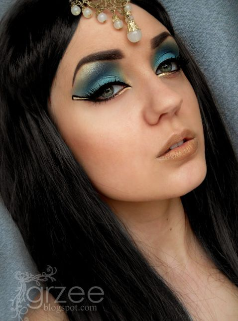egyptian goddess eye makeup tutorial