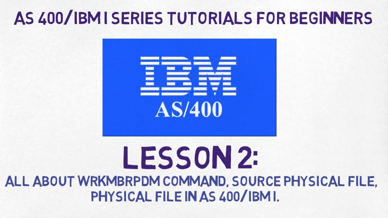 as400 tutorial for beginners