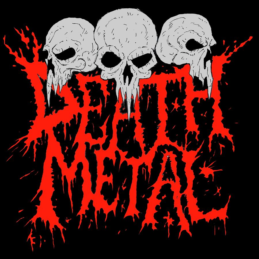 death metal logo tutorial