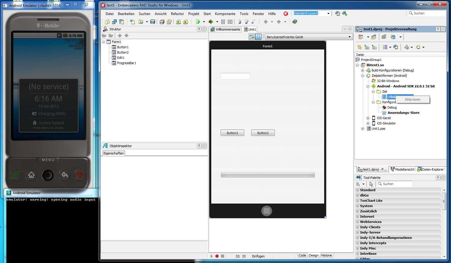 delphi android development tutorial