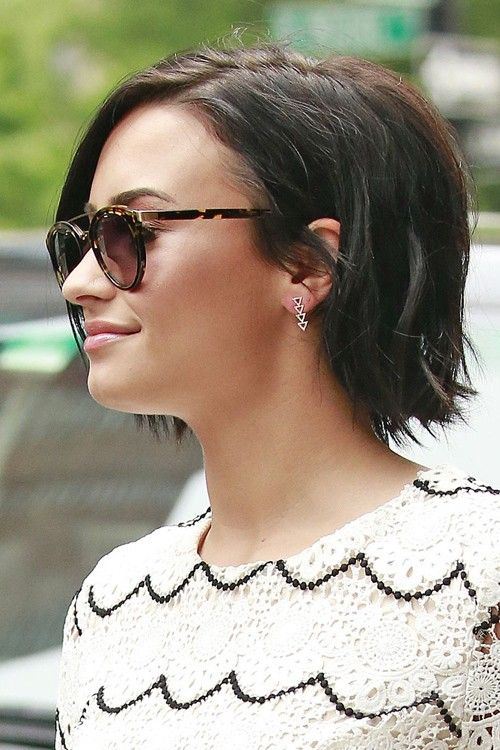 demi lovato haircut tutorial