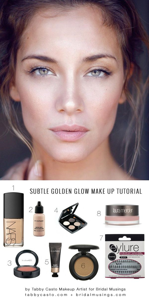 dewy face makeup tutorial