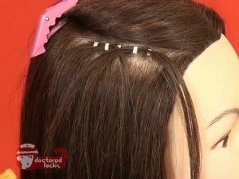 diy clip in hair extensions tutorial