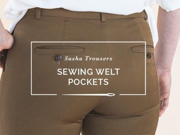 double welt pocket tutorial