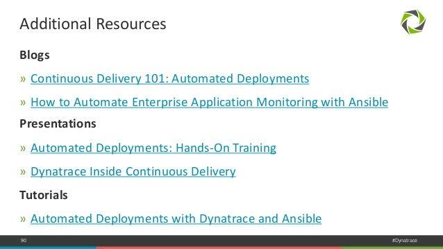 dynatrace monitoring tool tutorial