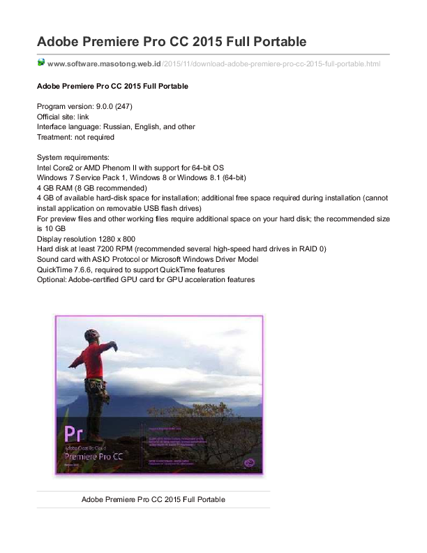 adobe premiere pro cc 2015 tutorial pdf