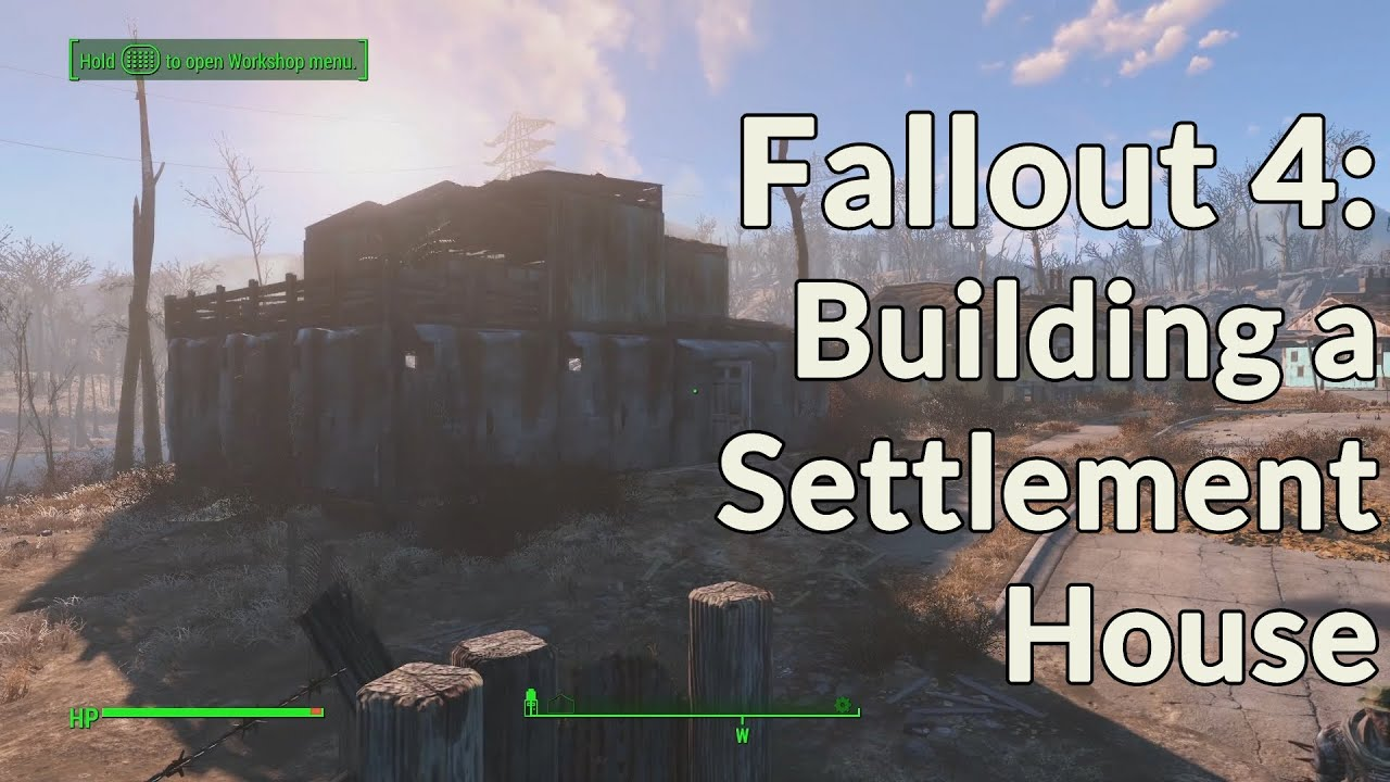 fallout 4 house building tutorial