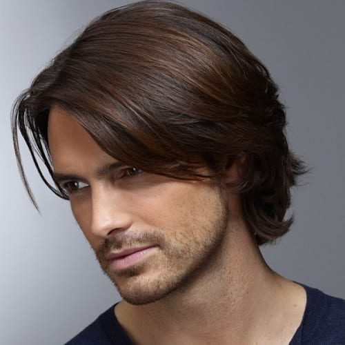 mens long hair tutorial