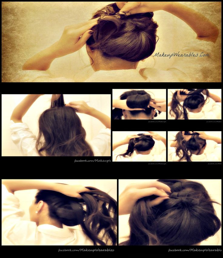 long hair prom tutorial