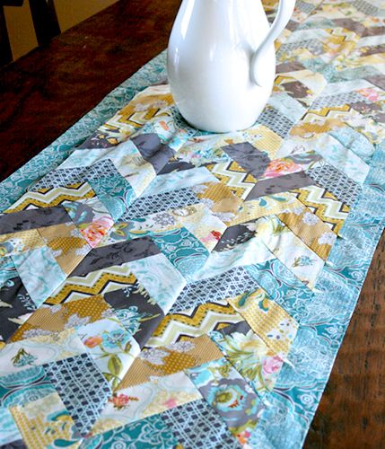 french braid table runner tutorial