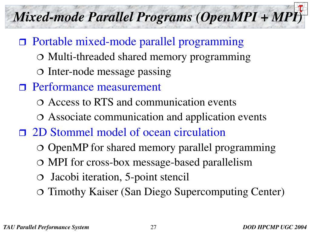 c++ parallel programming tutorial