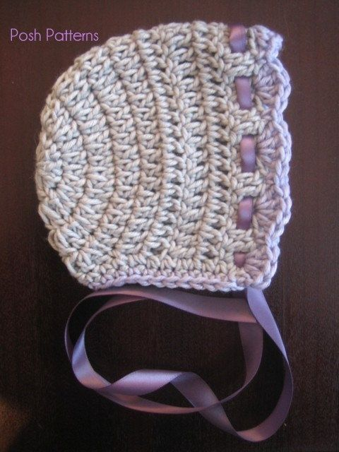 easy crochet baby hat tutorial