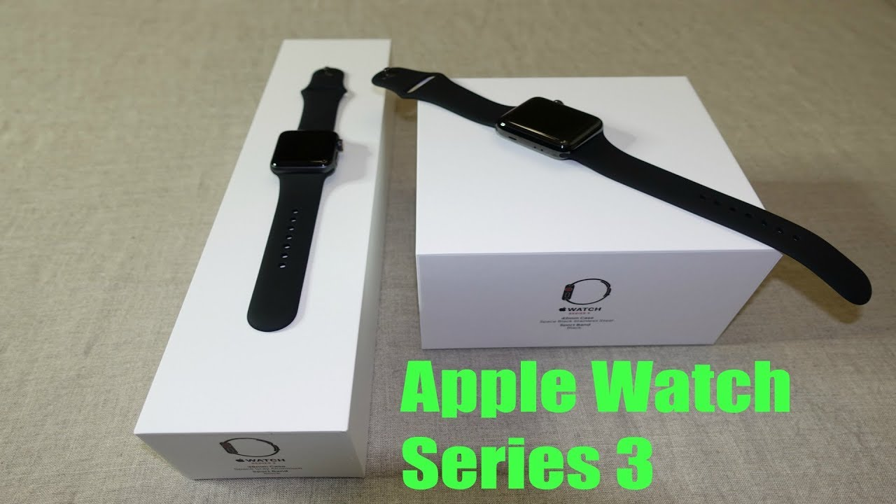 youtube apple watch series 3 tutorial