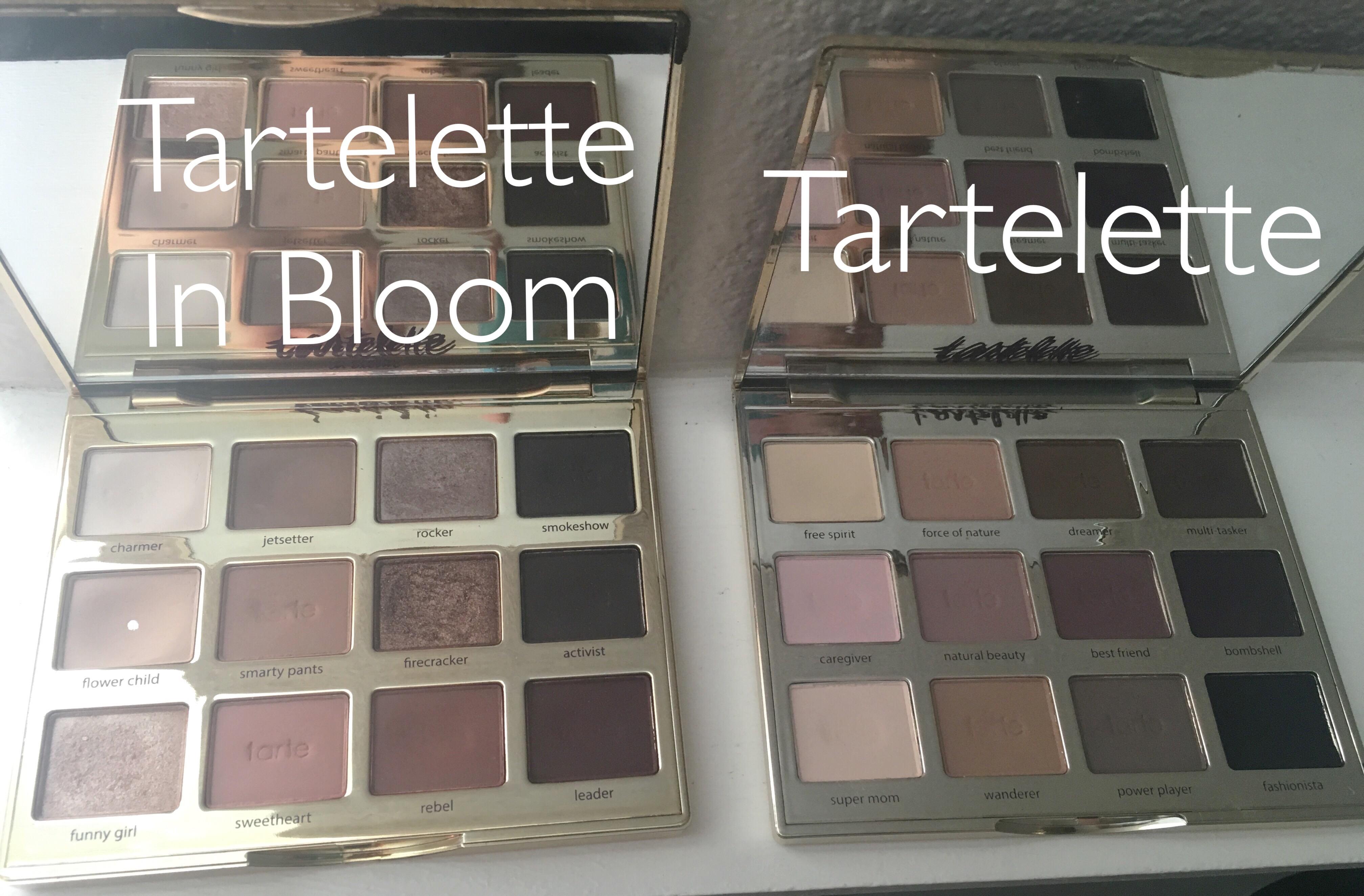 tartelette in bloom palette tutorial
